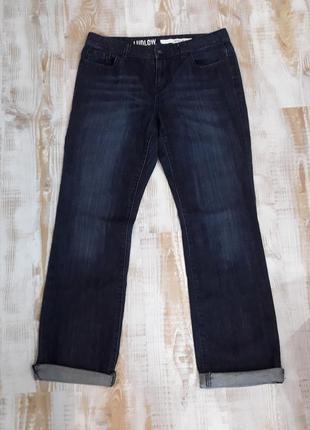 Стильные темно-синие джинсы dkny ludlow