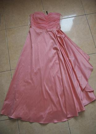 Бальное выпускное вечернее платье naf naf 38
