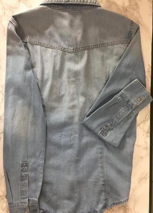 Джинсовая рубашка2 фото