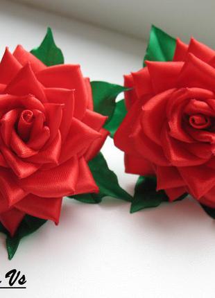 """Резинки """"красные розы"""""""