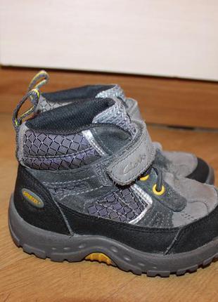 Шкіряні черевики , ботинки clarks