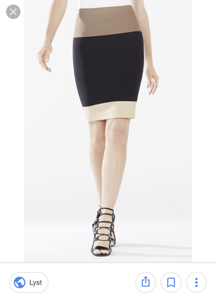 Bcbg max azria бандажная юбка карандаш  размер s
