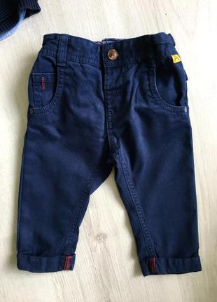 Штаны, брюки на 6-9 мес.,  m&s