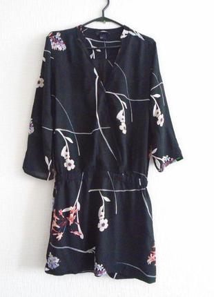 Миленькое платье на запах с заниженой талией р.34/6 h&m