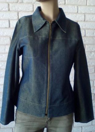 Классный котоновый пиджак . 12