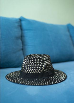 Соломенная шляпа шляпка zara