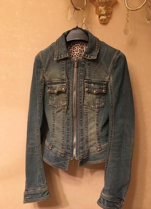 Летний джинсовый пиджак