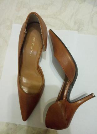 Туфлі, натуральна шкіра