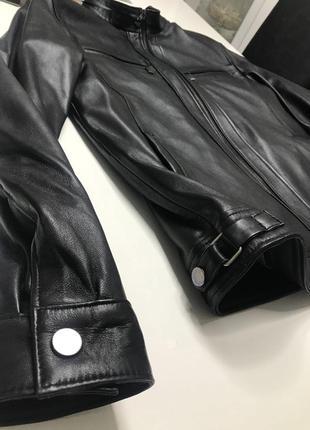 Куртка кожанная мужская/ чоловiча шкiряна куртка5 фото