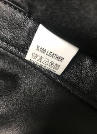 Куртка кожанная мужская/ чоловiча шкiряна куртка4 фото