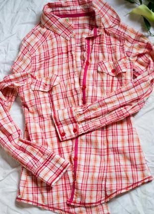 Клетчатая рубашка denim co