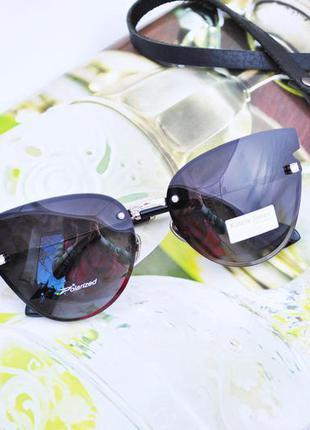 Фирменные безоправные очки katrin jones polarized