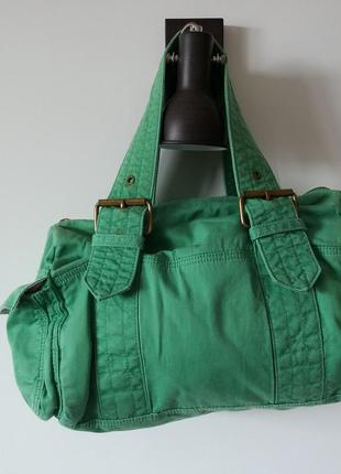 Зелёная сумка  gap1 фото