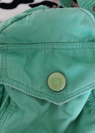 Зелёная сумка  gap3 фото