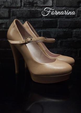 Кожаная туфли fornarina