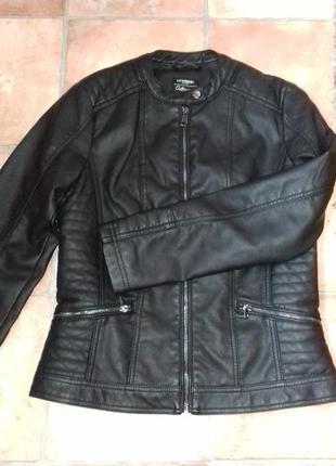 Курточка кожзам