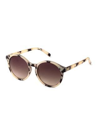 Солнцезащитные очки h&m бежевые