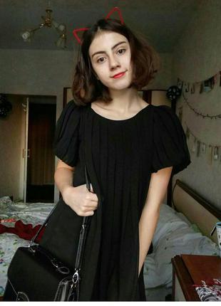 Вечернее платье mango черное
