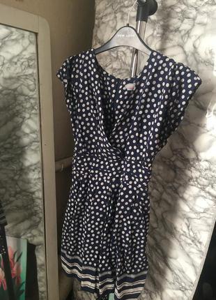 Dorothy perkins платье в горошек