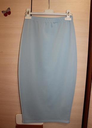 Стильна юбка миди boohoo