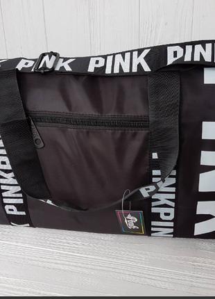 Спортивная сумка для фитнеса victorias secret  черная