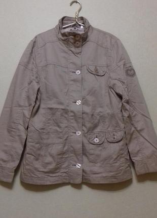 Куртка ветровка на подкладке  100% хлопок 164 см