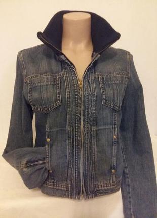 Джинсовая куртка liz claiborne размер м
