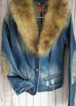 Джинсовый пиджак  lee cooper