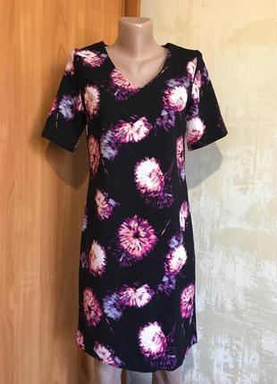 Обалденное платье миди в цветочный принт!