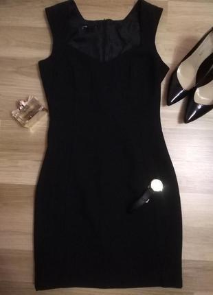 Новое маленькое короткое  чёрное платье