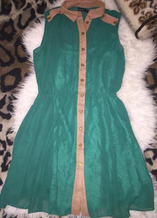 Платье изумрудного цвета😍