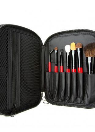 Набор кистей для макияжа coastal scents citiscape travel brush set - 7 pcs