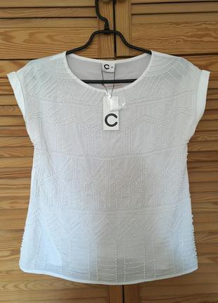 Блуза вышитая бусинами cubus