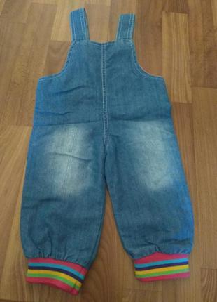 Комбинезон джинсовый2