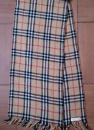 Шарф burberry nova check 100 scarf