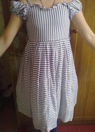 Легкое летнее платье для девочки.