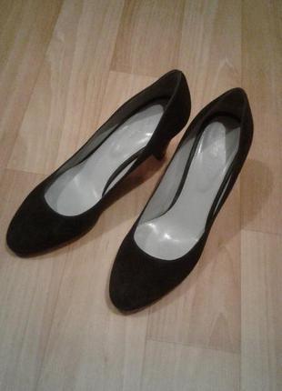 Туфли кожа sergio rossi