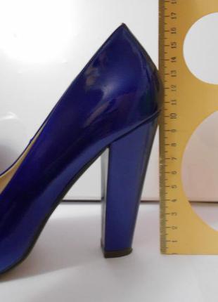 af4706938a97 Красивые синие туфли лодочки 37 размер женские Centro, цена - 130 ...