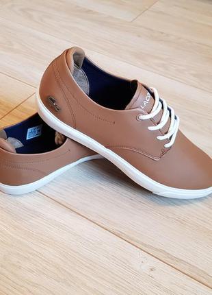 Мужские туфли lacoste. новые