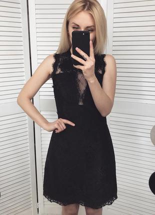 Розкішна кружевна сукня-футляр