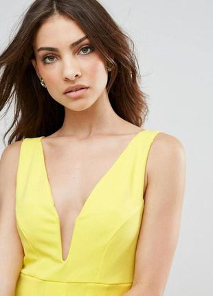 Club l яскрава жовта сукня
