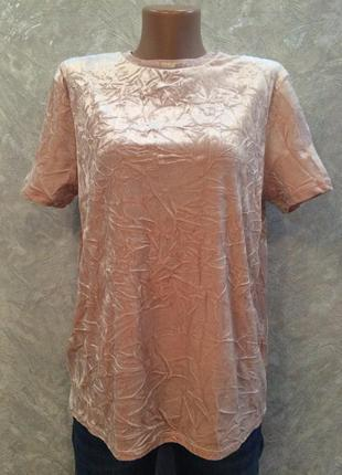 Блуза бархатная marks&spencer