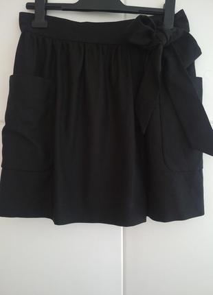 Шерстяная юбка с запахом french connection