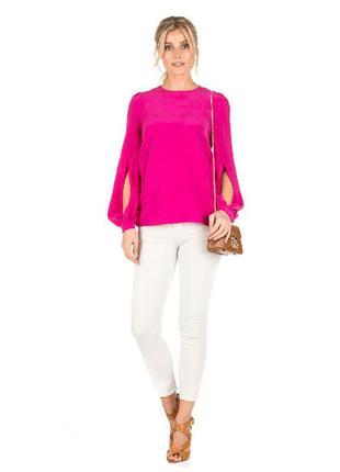 Шелковая блуза warehouse 100% натуральный шелк