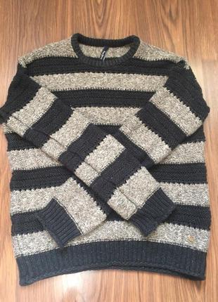 Полосатый свитер pepe jeans