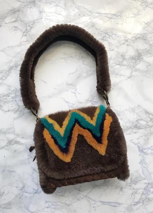 Сумка из меха норки украинского дизайнера