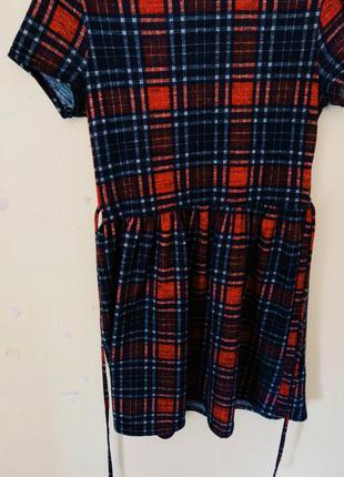 Платье в клеточку new look