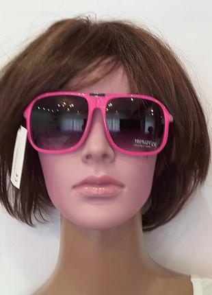 Экстрамодные очки , франция, jennyfer, розовые