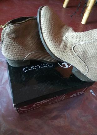 Ботинки италия натуральный материал