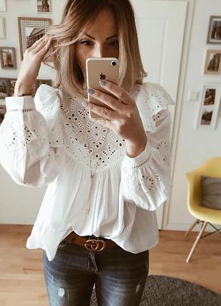 Блуза h&m 38 размер